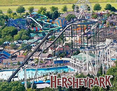 Pennsylvania - HERSHEY PARK - Travel Souvenir Flexible Fridge Magnet