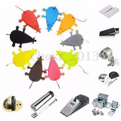 New 1-10x Home Wall Buffer Rubber Mouse Door Handle Stopper Stop Wedges Blockers