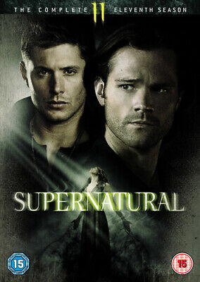 Supernatural: The Complete Eleventh Season DVD (2016) Jared Padalecki ***NEW***