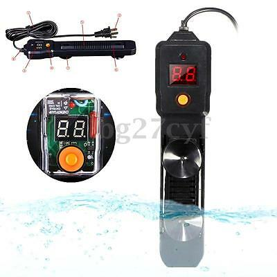 Adjustable Automatic Submersible Aquarium Fish Tank Water Heater Thermostat 100W