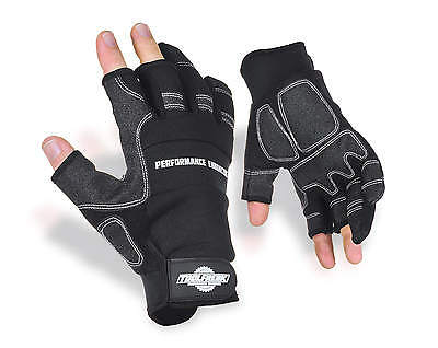 Heavy Duty Work Gloves Synthetic Leather Strong Grip Padded Palms From ToolFreak