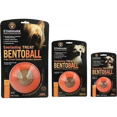 Bento ball - dog treat and toy - small, medium or large