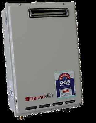 Thermastar 6 star 20L LPG Instantaneous Flow Gas Hot Water Heater made by Takagi