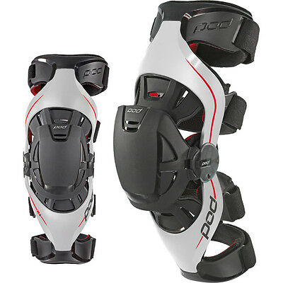 NEW POD K4 Knee braces Pair - Motocross Enduro & Knee Brace Bag FOC