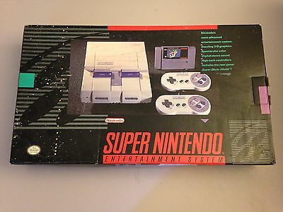 Super Nintendo SNES Console System Empty Box Only, No System