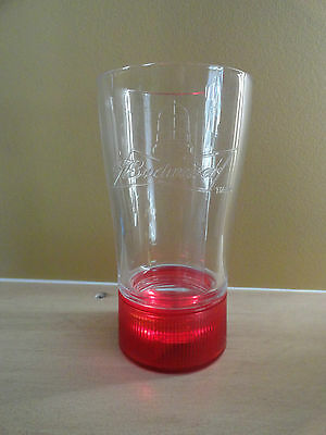 Budweiser Red Light Glass 414 Ml Nib