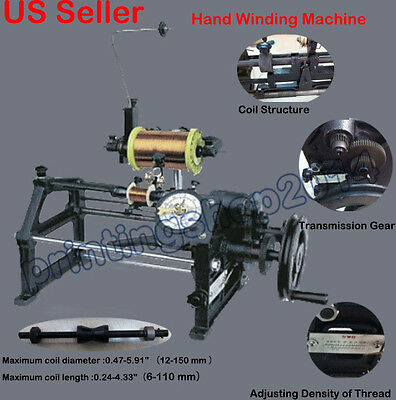Manual Hand Winding Winder Coil Machine Auto Electric Dual-purpose Counting
