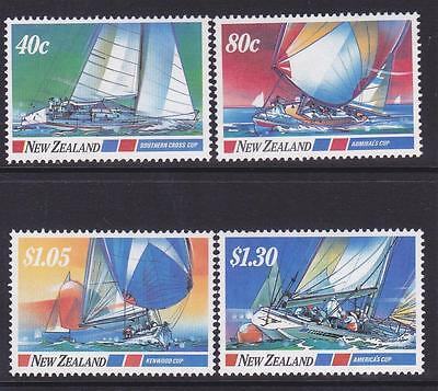 New Zealand 1987 Yachting Events MNH