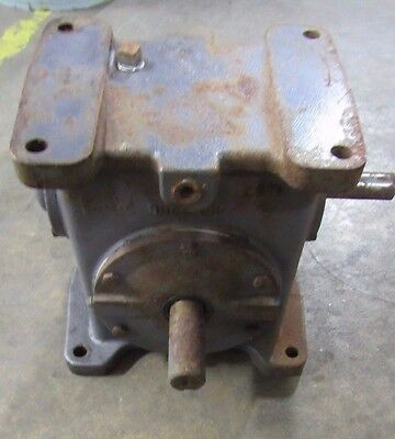 Browning 237 U1-Lr30 30:1 Ratio Worm Gear Speed Reducer Gearbox