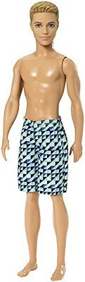 Barbie Toy - Beach Party Ken Fashion Doll - Water Play