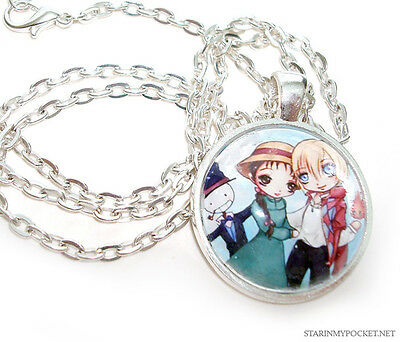 Howl's Moving Castle Anime Pendant Necklace