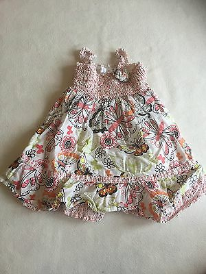 Baby Girls Clothes 3-6 Months - Pretty  Summer Dress - We Combine Postage