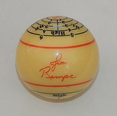 Jim Rempe Training CUE Ball Aramith billiard JR TRAINING BALL BILLARDS R11511