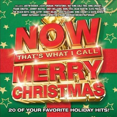 Various Artists - Now That's What I Call Merry Christmas [2016] New Cd