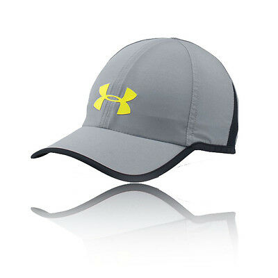 Under Armour Shadow 3.0 Mens Grey Running Sports Cap Athletic Baseball Hat