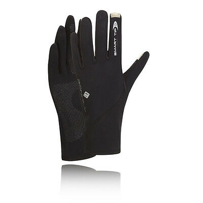 Ronhill Sirocco Womens Black Outdoors Running Sports Warm Gloves Mittens