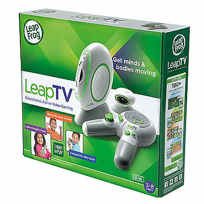 New LEAP FROG LEAP TV EDUCATIONAL VIDEO GAMES CONSOLE KIDS INTERACTIVE