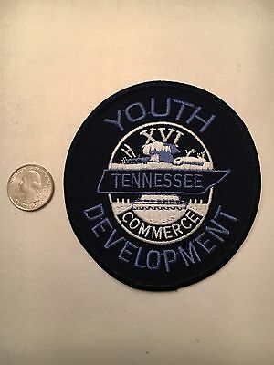 Tennessee Youth Development Juvenile Justice Police Patch Tn