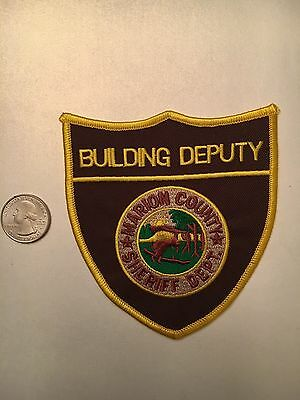 Marion County Indiana Sheriffs Department Building Deputy Police Patch In