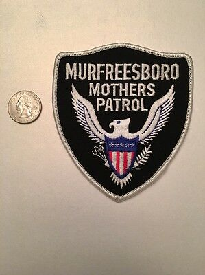 Murfreesboro Tennessee Police Department Mothers Patrol Patch Tn
