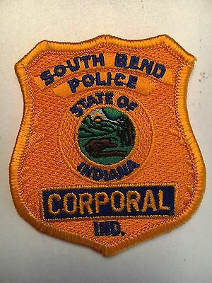South Bend Indiana Police Department Corporal Patch In