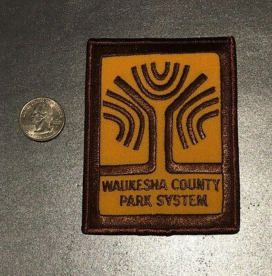 Waukesha County Parks Wisconsin Ranger Police Patch Wi