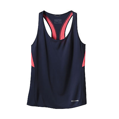 Patagonia Women's Fore Runner Tank - Navy Blue