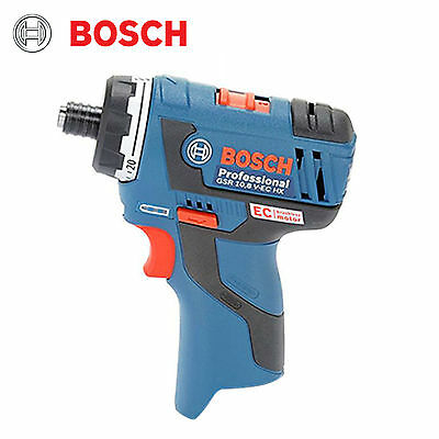 Bosch GSR 10.8V-EC HX Professional LED Cordless Drill Driver Bare tool Body Only