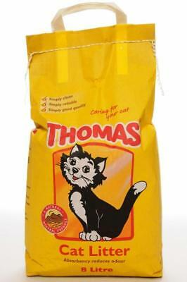 Thomas Cat Litter 5, 8 or 16 Litre Bags • EUR 5,61