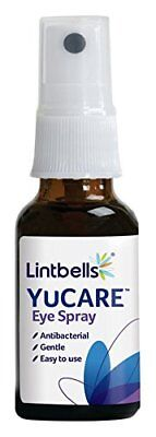 Lintbells YuCARE Antibacterial Eye Cleaning Spray 20ml For Dog Cat Pet