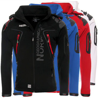 Geographical Norway Tambour Herren Softshell Jacke Outdoor
