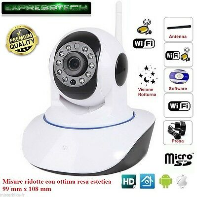 Ip Mini Camera Wanscam Hw0041-1 Motorizzata Wifi Sd Onvif Hd720P 1Mpx P2P Zoom
