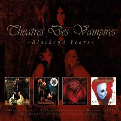 Theatres Des Vampires - Blackend Years New Cd