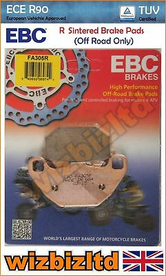 EBC Rear Sintered R-Series HD Brake Pads Kymco MXU 50 (2T) 05-13 FA305R