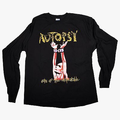 AUTOPSY - Acts Of The Unspeakable - Longsleeve Shirt