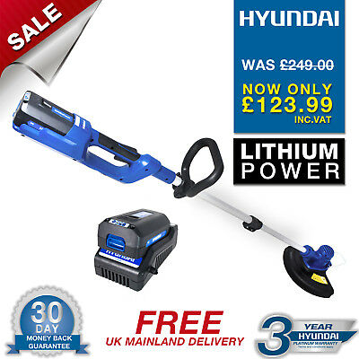 Hyundai Cordless 36v Lithium Hedge Trimmer, Hedgetrimmer Strimmer HYTR36Li