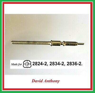 Winding Stem Made for Swiss ETA Watch Movements 2824-2, 2834-2, 2836-2. Generic