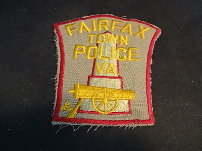 Fairfax Town Police Virginia VA Collectible Sewing Patch
