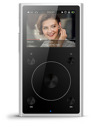 FiiO X1 2nd Gen Portable High-Resolution Audio Player with Bluetooth (Silver)