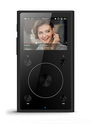 FiiO X1 2nd Gen Portable High-Resolution Audio Player with Bluetooth (Black)