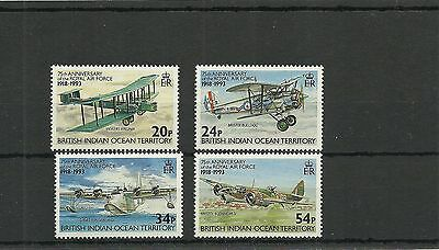 Biot Sg136-1390 75Th Anniversary Of Raf  Set Mnh