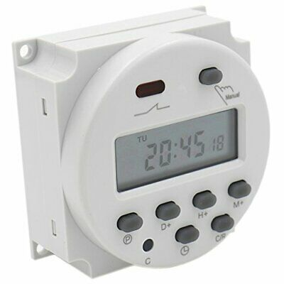 Interruttore Digitale con Display LCD e Timer programmabile DC 12 V, CN101A