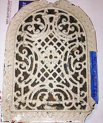Antique Salvaged Arch Vintage Floor Wall Grate Heat  Return Register Vent #22