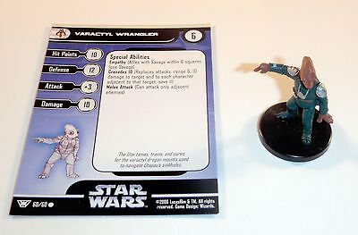Varactyl Wrangler 60/60 Star Wars Miniatures Champions of the Force Fringe