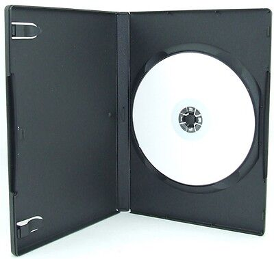 100 pcs Standard Black DVD Case 14MM Movie Box On Sale New