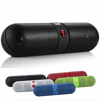 Bluetooth Wireless Mini Shockproof Speaker FM Stereo for SmartPhone Laptop PC