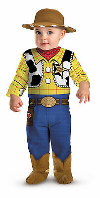 Toy Story Movie Woody Infant Baby Costume Fancy Dress Cute Outfit,