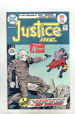 Justice Inc #2 FN+ Jack Kirby, The Avenger
