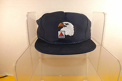 1980s Citgo Eagle LOGO  Racing Engine Oil & GAS  Captains Baseball Hat Cap NOS