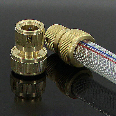19mm Brass Hose End Connector Solid Brass Quick Connector for Garden Irrigation